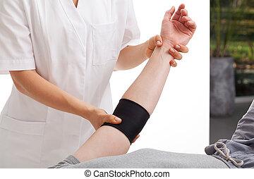 fysiotherapie, Kantoor