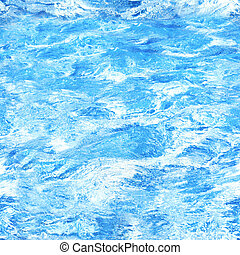 Seamless texture of water