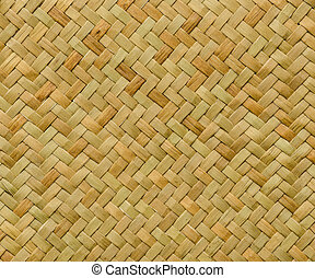 pattern nature background of handicraft weave texture wicker...