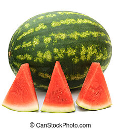 water melon and slice of it