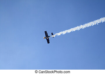 Airshow - Aerobatic team at airshow
