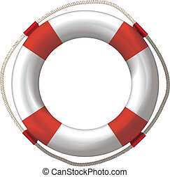 lifebelt lifebuoy - lifebelt, lifebuoy isolated on white...
