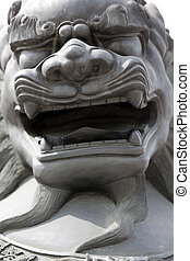 Chinese lion - Chinese Lion. Summer Palace in Beijing, China