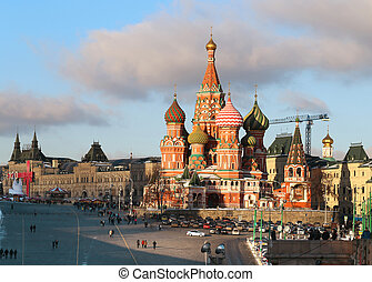 St. Basil's Cathedral - Magnificent views of St. Basil's...