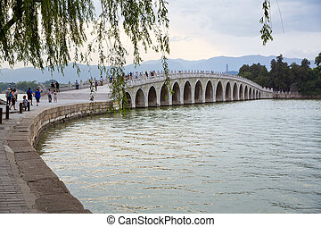 Beijing, Summer Palace - The beautiful view of the Summer...