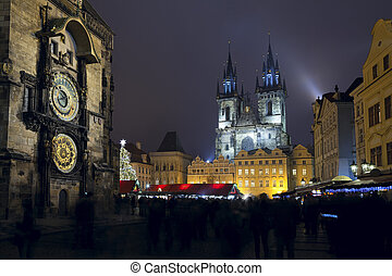 Old Town Square, Prague. - Image of famous Old Town Square...