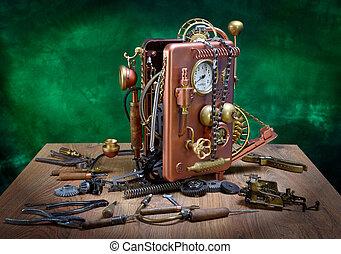 teléfono, reparación
