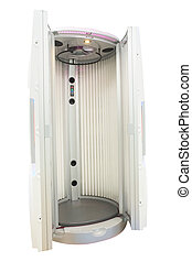 tanning booths - The image of a tanning booths