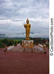 Buddha statue in Muang Xai, Laos