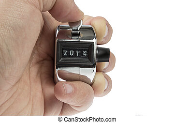 Hand held telly counter 2014 - Hand held tally counter...