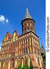 Cathedral of Koenigsberg. Gothic, 14th century - Koenigsberg...