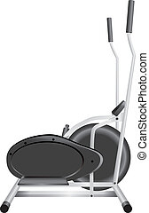 Elliptical Cross Trainer - Elliptical trainer for individual...