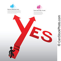 Yes arrow vector for success concepts / can use for...