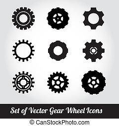 Cogs / gears vector