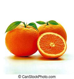 Oranges - isolated