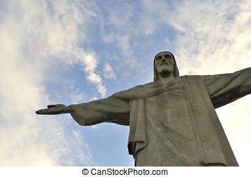 Rio de Janeir - Chris Corcovado in Rio de Janeiro, Brazil