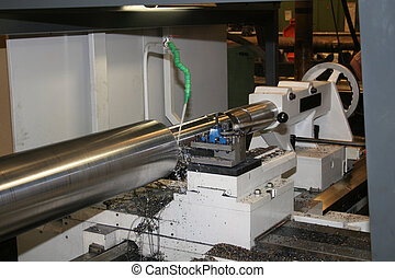 Lathe Turning Stainless Steel