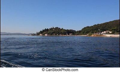 Coast, time lapse - Montenegro, Kamenari, time lapse