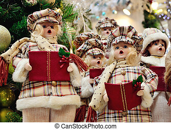 Christmas Carolers decoration