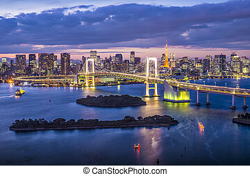 Tokyo Japan - Tokyo Bay, Japan