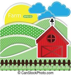 farm fresh label over white background vector illustration