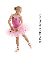 jeune, ballerine