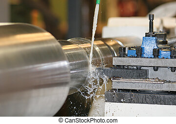 Lathe Turning Stainless Steel - Drill