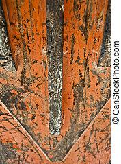 Grungy work machine metal texture