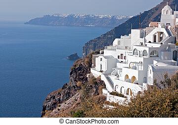 Santorini - island, Greece