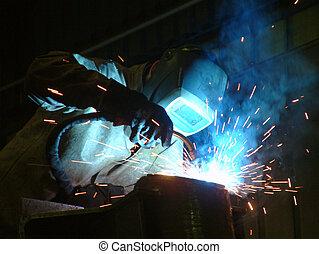 Welding - Welder at work