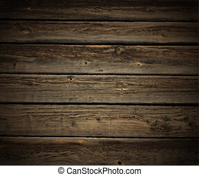 Wood texture - Vector illustration of the wooden background