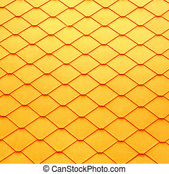 The Abstract of tile roof background