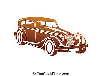 Caramel sport classic automobile