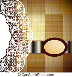 Abstract Retro Background Vector Illustration