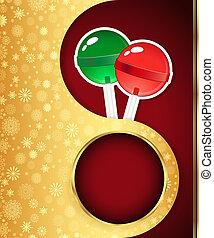 Christmas background with snowflakes design. Vector eps 10