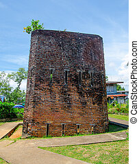 Old jail in chantaburi province,Thailand