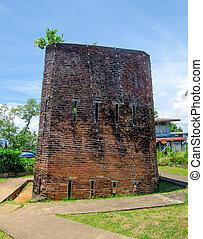 Old jail in chantaburi province,Thailand