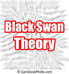 Black Swan Theory image with hi-res rendered artwork that...