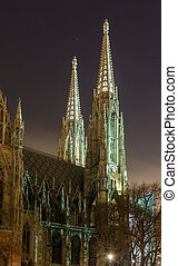 Votive Church, Vienna - The Votive Church is a neo-Gothic...