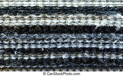 Layers of fabric as texture pattern background