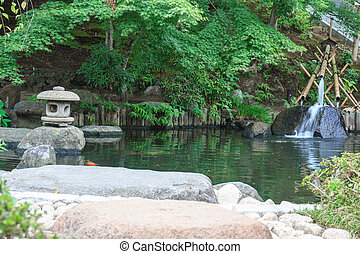 Japanese style garden - Landscaping and decorate garden...