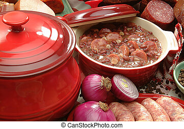 Feijoada, -, Brasileiro, típico, alimento