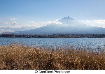 fujisan Kawaguchigo lake Japan - Mountain Fuji fujisan from...