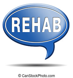 rehabilitation rehab for drugs alcohol or sport and accident...