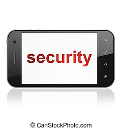 Protection concept: Security on smartphone