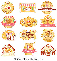 Bakery Label Collection