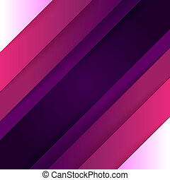 Abstract background with purple paper layers - Abstract...