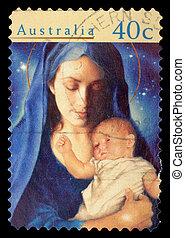A stamp printed in Australia - AUSTRALIA - CIRCA 1996: A...