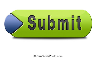 submit button - Submit button or icon for submitting data...