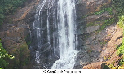 waterfall in Kerala state India